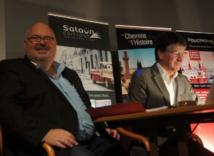 Michel Salaün et Stéphane Le Pennec lors de la convention - Photo CE