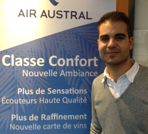 Air Austral : José Oliveira Attaché Commercial PACA