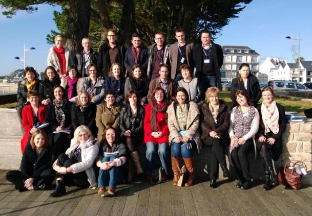 L'équipe de la Boutique des groupes à l'occasion de la Convention en 2013 - DR