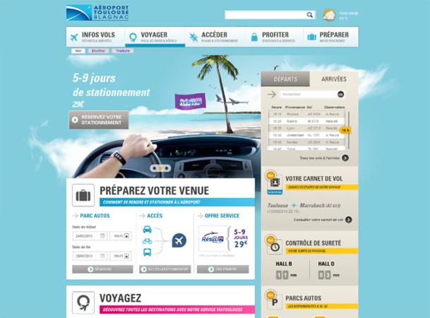 Le site internet proposera de nouveaux services pour que les passagers disposent des informations utiles à la préparation de leur voyage et l'optimisation de leur déplacement - DR