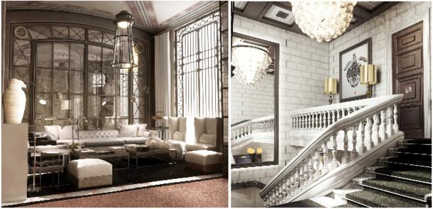 L'Hôtel Cotton House Barcelona est situé dans un bâtiment datant du 19e siècle - Photo DR