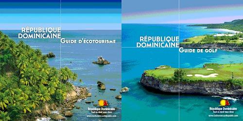 Les brochures de la République Dominicaine sur l'écotourisme et le golf sont disponibles gratuitement sur demande auprès de l'Office de Tourisme - DR