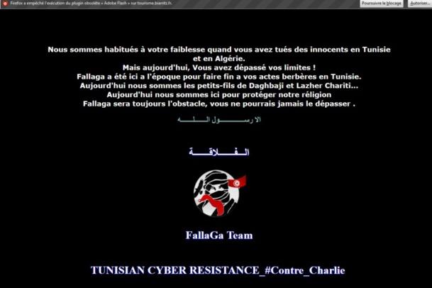 Le site de Biarritz Tourisme piraté dimanche après-midi