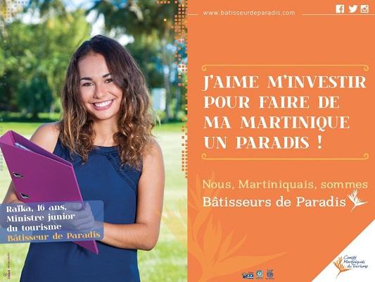 """La campagne """"Bâtisseur de Paradis"""" vise à sensibiliser les Martiniquais au tourisme - DR"""