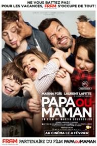"""""""Papa ou Maman"""" : Fram invite 4000 agents de voyages au Cinéma !"""