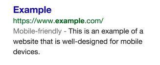 L'exemple d'affichage sur Google suite à une recherche - DR Capture d'écran du blog de Google
