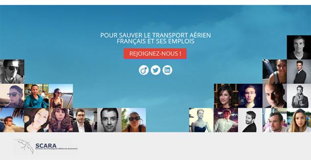 Le Scara lance un site Internet sur les enjeux du transport aérien