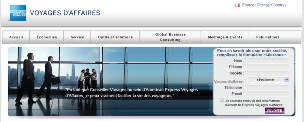 C'est American Express Voyages d'Affaires qui va gérer les déplacements professionnels du Groupe La Poste en France - DR : www.amexglobalbusinesstravel.com