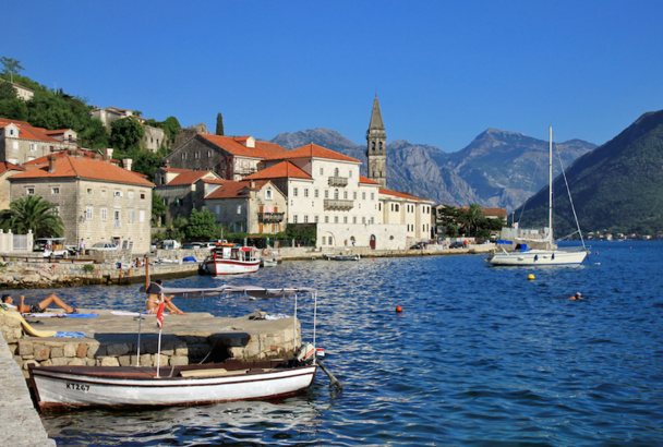 La ville de Perast dans les bouches de Kotor, classées UNESCO, se trouve juste à coté du nouveau Top Club de Top of Travel au Monténégro. © Hons084 / Wikimedia Commons