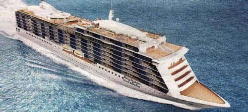 Four Seasons Oceans Résidences : un bateau ''résidence de luxe''