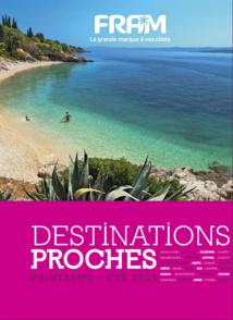 La nouvelle brochure Printemps été 2015 de FRAM - DR