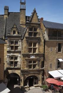 Ici la maison natale de La Boétie au coeur de la cité médiévale - DR : Mathieu Anglada