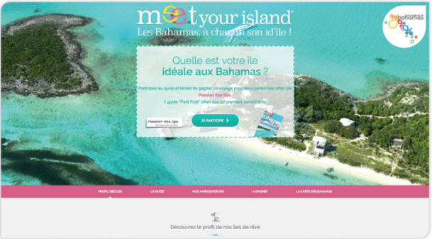 """La campagne """"Meet Your Island"""" se déploie sur le Web à partir de ce lundi 19 janvier 2015 - DR"""
