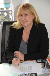 Mariline Perez a pris la suite de Georges Vialard en septembre 2014 - DR