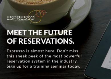 """Le nouveau système de réservation """"Espresso"""" de RCCL sera accessible sur tablettes - Capture d'écran"""