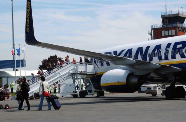 Beauvais restera la première plateforme française de Ryanair en 2015, avec trois nouvelles destinations. DR- Syndicat mixte de l'Oise Picarde.