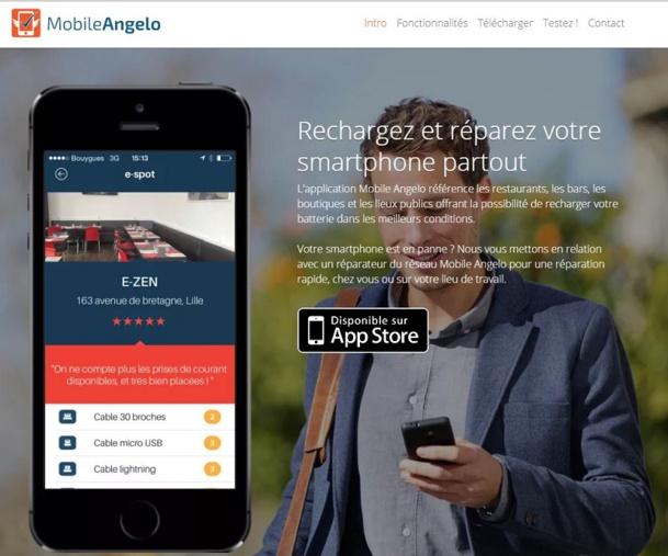L'application est disponible uniquement sur IPhone et iPad pour le moment.