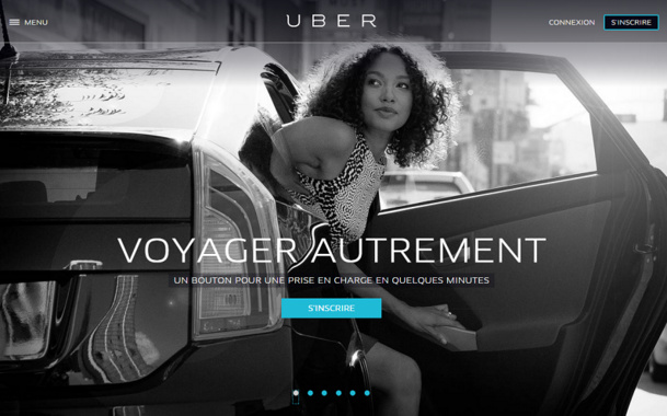 Uber continue d'accumuler des fonds et s'affirme dans son expansion internationale - DR : capture d'écran Uber