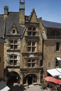 The birthplace of La Boétie at the heart of the medieval city - DR : Mathieu Anglada
