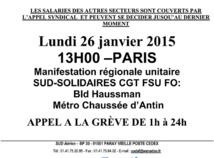 Loi Macron : les syndicats de l'aérien appellent à la grève lundi 26 janvier 2015
