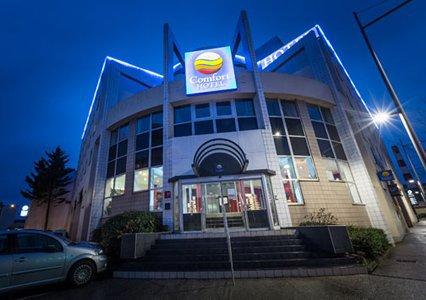Le Comfort Hotel Clermont Saint-Jacques s'étend sur 4 000 m² - DR : Choice Hotels