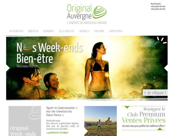 L'agence réceptive Original Auvergne, spécialisée dans la commercialisation touristique de la destination, a été liquidée vendredi 16 janvier 2015 - DR : Original Auvergne