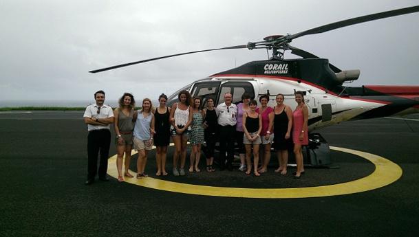 Le groupe Hotels & Co a invité les représentants de 8 TO à français à découvrir le Palm Hotel & Spa - Photo DR