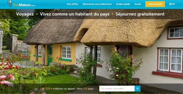 Trocmaison.com propose à ses clients de voir les avis clients de TripAdvisor directement sur son site. DR Capture d'Ecran