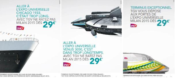 TGV France-Italie partenaire de l'Expo de Milan