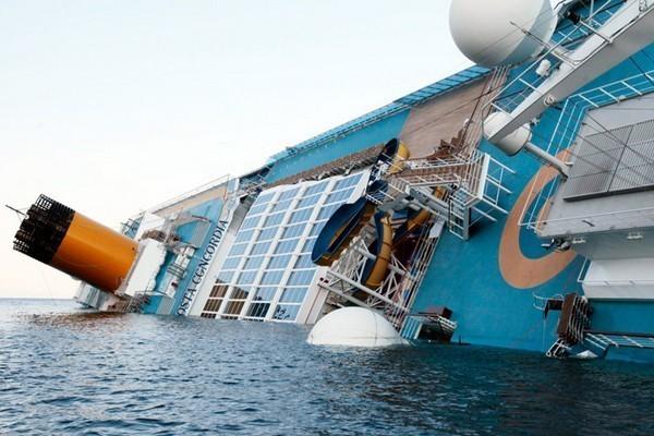 Le Costa Concordia s'était échoué le 12 janvier 2012 près de l'île du Giglio, dans le Sud de l'Italie - Photo DR