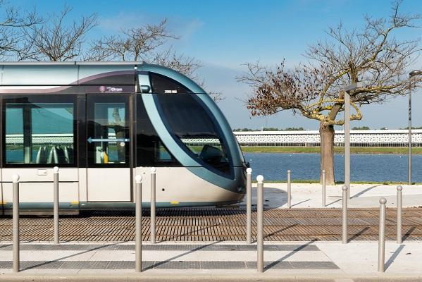 L'extension de la ligne C du tramway de la CUB est en service depuis le 24 janvier 2015 - DR : Congrès et Expositions de Bordeaux