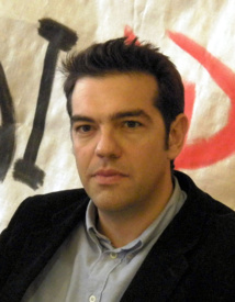 Alexis Tsipras, nouveau Premier ministre grec - Photo Wikipedia