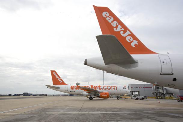Sur les 3 premiers mois de l'exercice, le nombre de passagers transportés a crû de 4,1% pour atteindre 14,9 millions Photo Easyjet DR