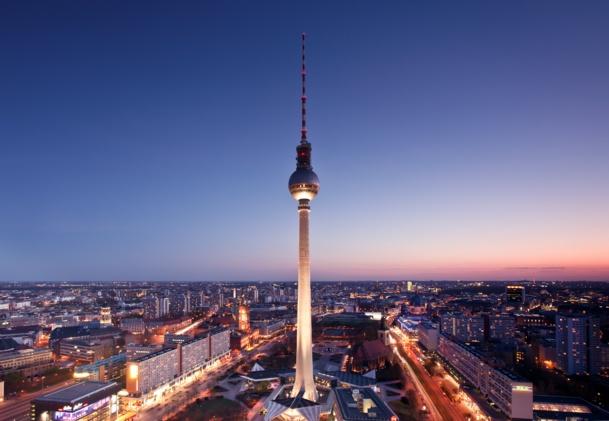 L'emblématique Tour TV de Berlin.