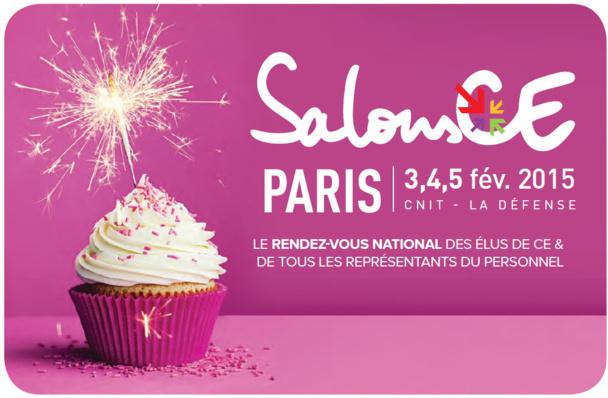 SalonsCE : 400 exposants au CNIT à Paris jusqu'à jeudi !