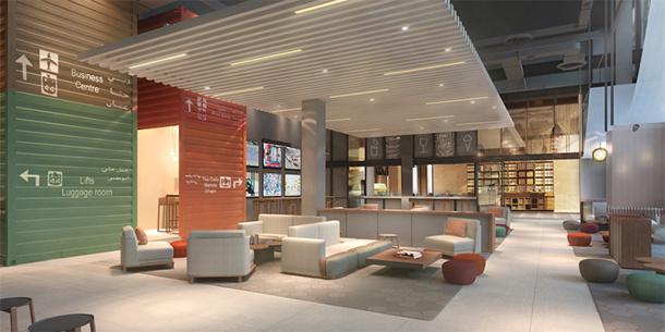 10 hôtels Rove seront implantés dans l'émirat d'ici 2020 - DR : Emaar Hotels