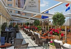 De nombreuses chambres de l'hôtel Van Oranje offrent une vue sur la mer - Photo DR