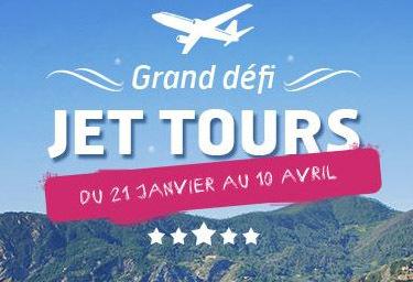 Challenge : Jet tours lance son Grand Défi