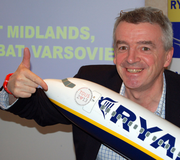 Micheal O'Leary CEO - Photo Ryanair