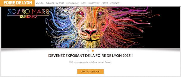 La 97e édition de la Foire Internationale de Lyon est prévue du 20 au 30 mars 2015 - Capture d'écran
