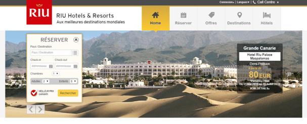 L'ensemble des hôtels dont RIU Hotels & Resorts est propriétaire obtiennent la certification - Capture d'écran