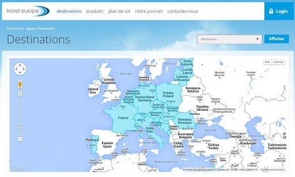 Travel Europe a renoncé à la reprise de Donatello - Capture d'écran
