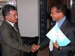 Polynésie : rencontre entre Oscar Temaru et Léon Bertrand