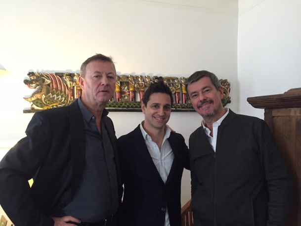 Didier Rabaux, Patrice Arezina, et Didier Blanchard espèrent 25% de croissance pour le tour-opérateur Visiteurs. DR-Visiteurs.