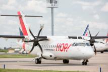 Cinq ATR 72-600 rajeuniront la flotte de HOP! en 2015 - DR : HOP!