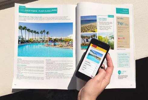 La brochure Printemps/Été 2015 de Marmara est désormais référencée sur l'application Overlay - Photo Marmara