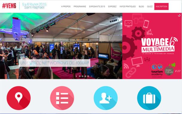 Le 6e salon Voyage en Multimédia a lieu les 5 et 6 février à Saint-Raphaël. DR Capture d'écran