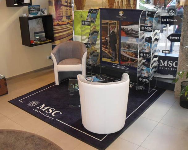 Les espaces MSC Croisières seront inaugurés dans les 8 agences Kuoni d'Univairmer à Toulouse, Bordeaux, Nice, Lyon, Grenoble, Strasbourg, Nantes et Lille - Photo DR