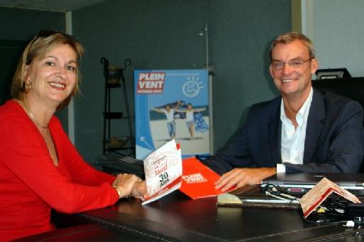 Joost Bourlon président et Carole Pellicer directrice générale déléguée (cliquer pour agrandir)