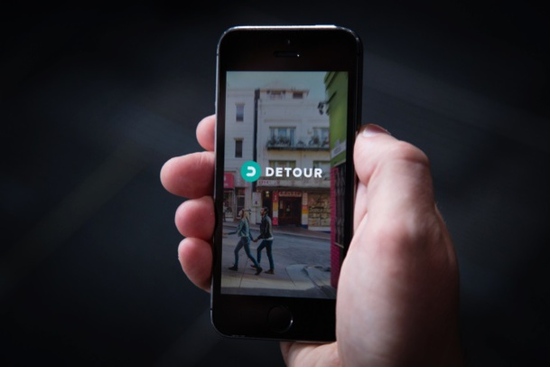 Detour est un audioguide de San Francisco. Pour 4,99 dollars, il est possible d'acheter un parcours à l'unité sur l'application.  © Detour